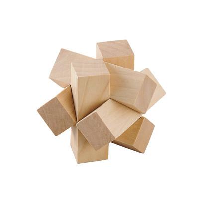 Кубик Дерев'яний MD2056 5.5см