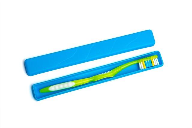 Футляр для зуб щітки пластиковий D205