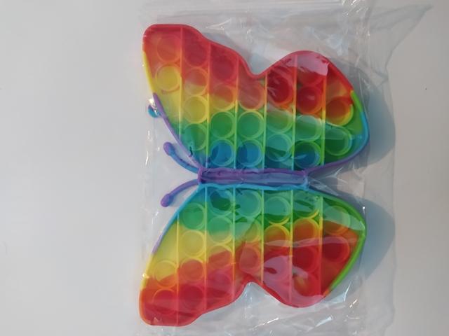 Антистрес іграшка POP IT Метелик 20 см