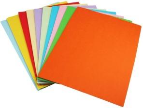 Кольоровий папір та картон